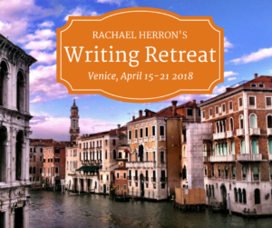 Come write in Venice with Rachael Herron - all writing levels welcome!