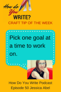 Jessica Abel on Working on One Project At a Time - Listen or watch at How Do You Write with Rachael Herron
