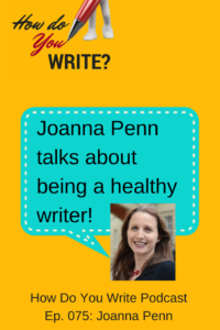 With her coauthor, Dr. Euan Lawson, Joanna Penn has just come out with a new book on living the writer's life healthily - enjoy this episode!